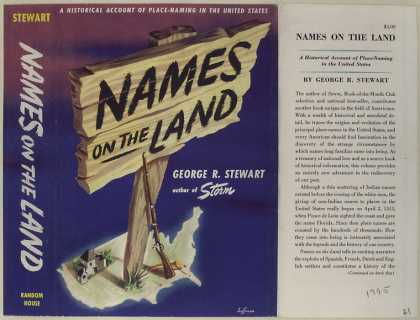Dust Jackets - Names on the land.
