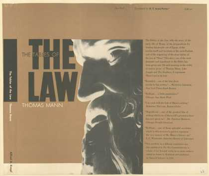 Dust Jackets - The tables of the law.
