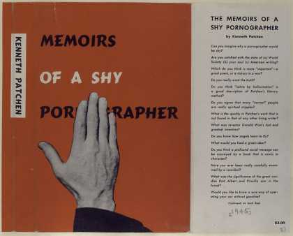 Dust Jackets - The memoirs of a shy porn