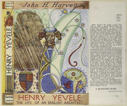 Dust Jackets - Henry Yevele, the life of
