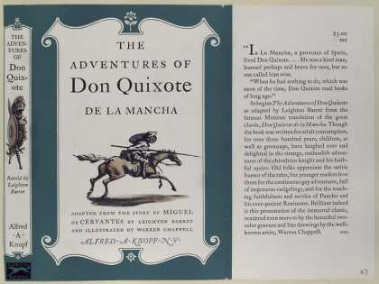 Dust Jackets - The adventures of Don Qui