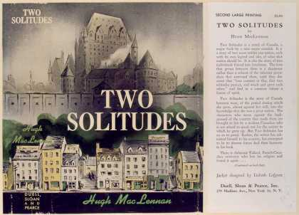 Dust Jackets - Two solitudes.