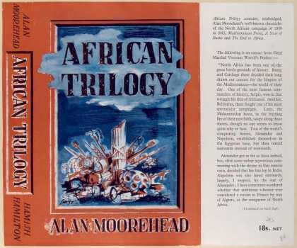 Dust Jackets - African trilogy.