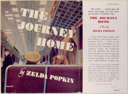 Dust Jackets - The journey home, a novel