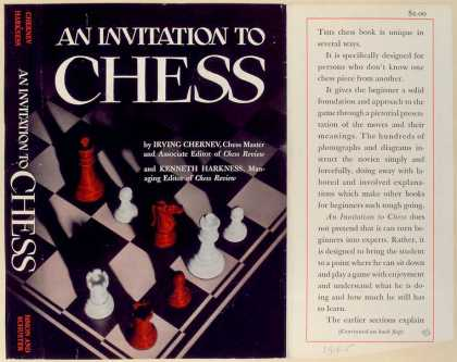 Dust Jackets - An invitation to chess.