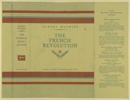 Dust Jackets - The French Revolution.