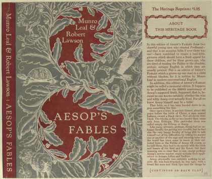 Dust Jackets - Aesop's fables.