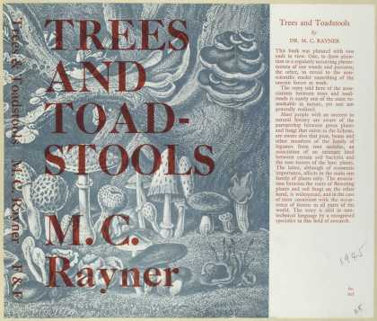 Dust Jackets - Trees and toadstools.