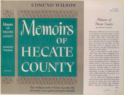 Dust Jackets - Memoirs of Hecate County.