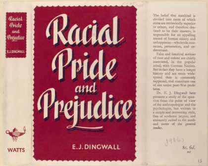 Dust Jackets - Racial Pride and Prejudic