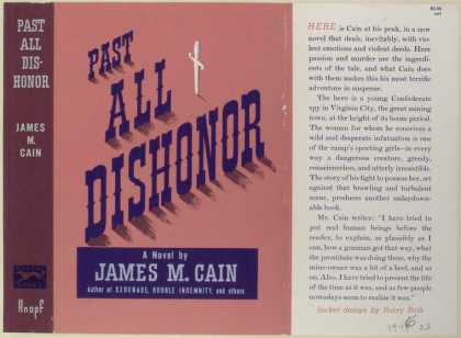 Dust Jackets - Past All Dishonor.