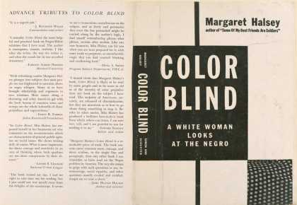 Dust Jackets - Color blind a white woma