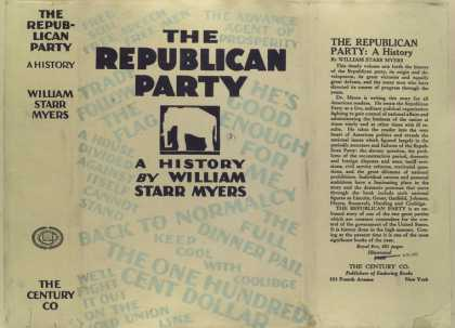 Dust Jackets - The Republican party, a h