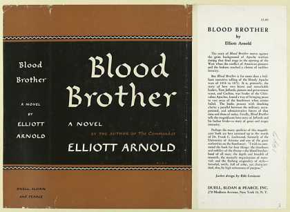 Dust Jackets - Blood Brother, by Elliott