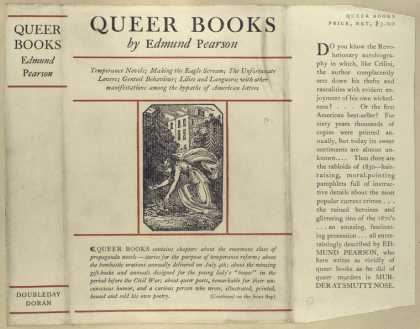 Dust Jackets - Queer books.