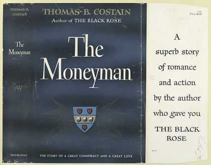 Dust Jackets - The Moneyman, by Thomas B