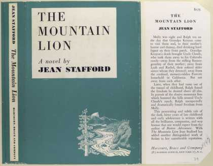 Dust Jackets - The Mountain Lion, by Jea