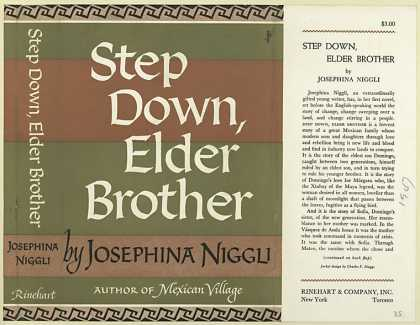 Dust Jackets - Step Down, Elder Brother,