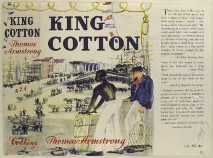 Dust Jackets - King Cotton, by Thomas Ar