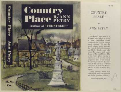 Dust Jackets - Country Place, by Ann Pet