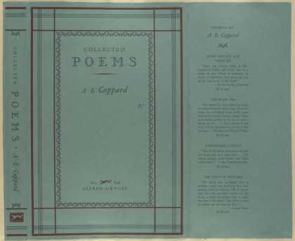 Dust Jackets - Collected poems.