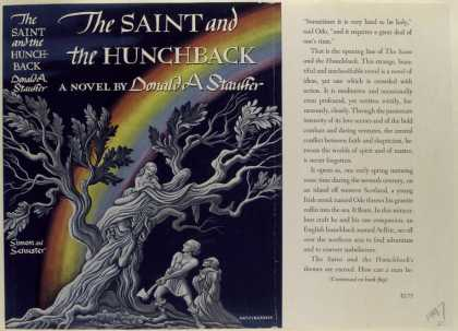 Dust Jackets - The Saint and the Hunchba