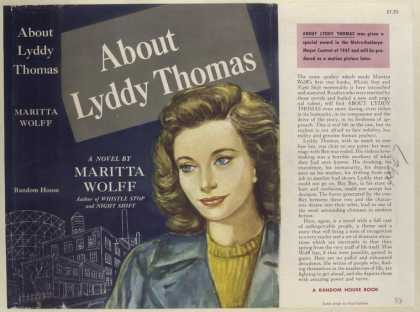 Dust Jackets - About Lyddy Thomas, by Ma