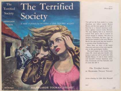 Dust Jackets - The Terrified Society, by
