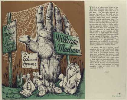 Dust Jackets - William Medium, by Edward