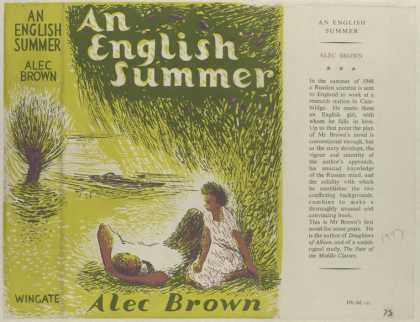 Dust Jackets - An English Summer, by Ale