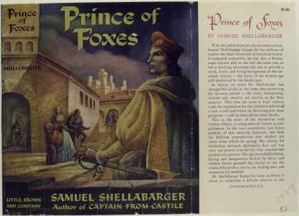 Dust Jackets - Prince of Foxes, by Samue