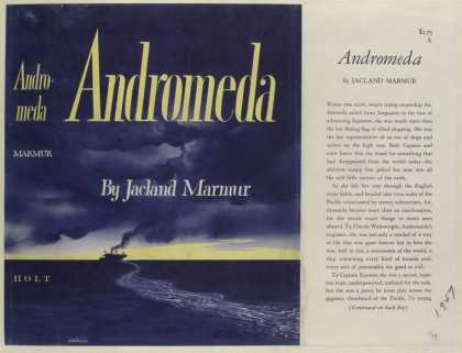 Dust Jackets - Andromeda, by Jacland Mar