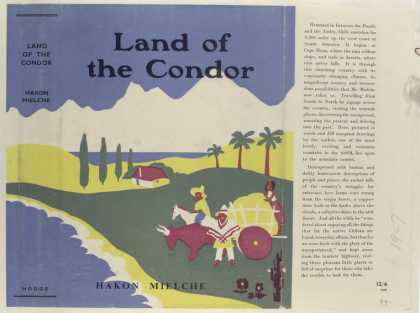 Dust Jackets - Land of the Condor, by Ha