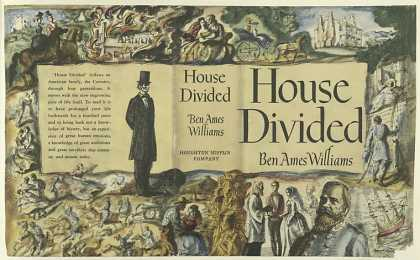 Dust Jackets - House Divided, by Ben Ame