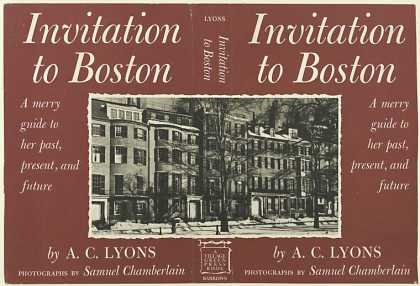 Dust Jackets - Invitation to Boston - A