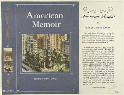 Dust Jackets - American Memoir, by Henry