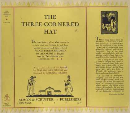 Dust Jackets - The three-cornered hat.
