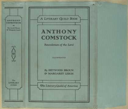Dust Jackets - Anthony Comstock, roundsm