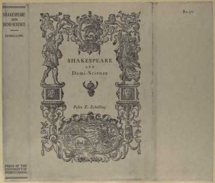 Dust Jackets - Shakespeare and Demi-Scie