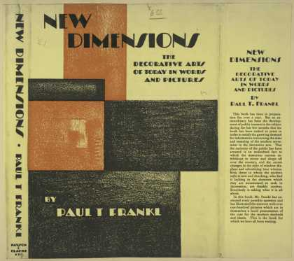 Dust Jackets - New dimensions the decor
