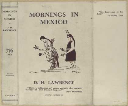 Dust Jackets - Mornings in Mexico.