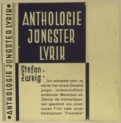 Dust Jackets - Anthologie jüngster lyrik