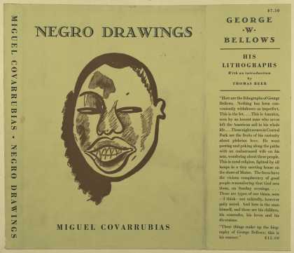 Dust Jackets - Negro drawings.