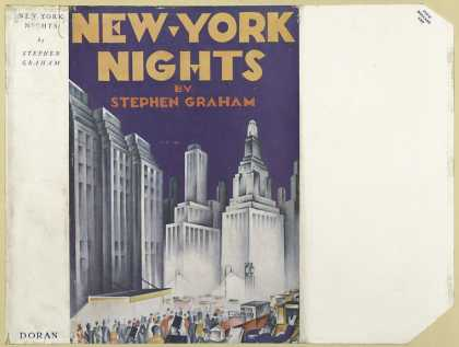 Dust Jackets - New York nights.