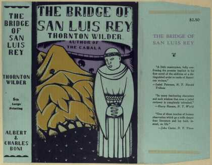 Dust Jackets - The bridge of San Luis Re