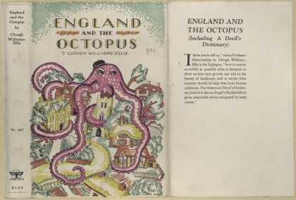 Dust Jackets - England and the octopus.