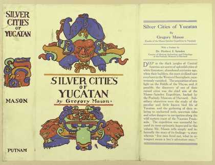 Dust Jackets - Silver cities of Yucatan.