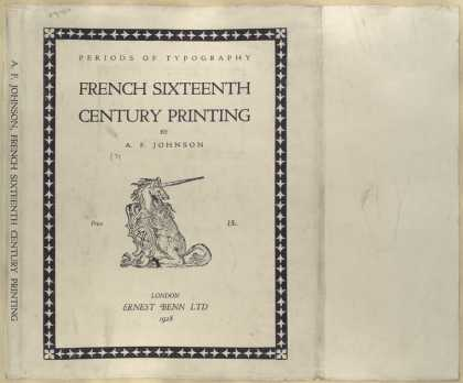 Dust Jackets - French sixteenth century