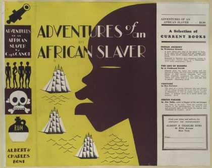Dust Jackets - Adventures of an African
