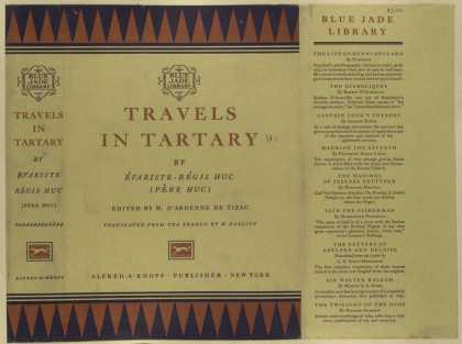 Dust Jackets - Travels in Tartary.